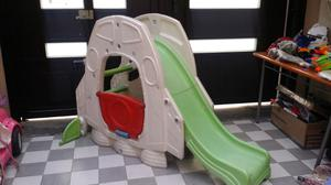 Resbaladilla step 2 little tikes de buzz ligth gear