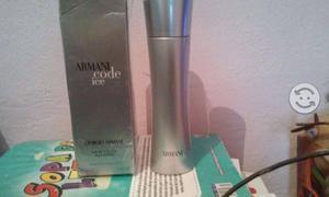 Perfume armani code ice nuevo