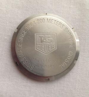 Tapa Reloj TAG Heuer original