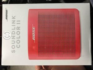 Bocina BOSE Soundlink II Color Red