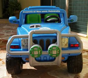 JEEP ELECTRICO MONSTER INC. $  A TRATAR.