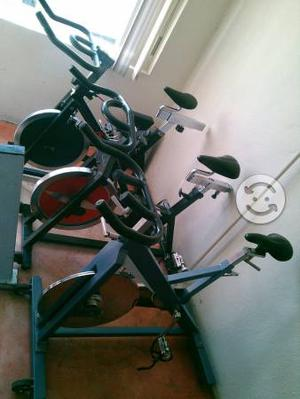 3 bicicletas de spinning uso rudo