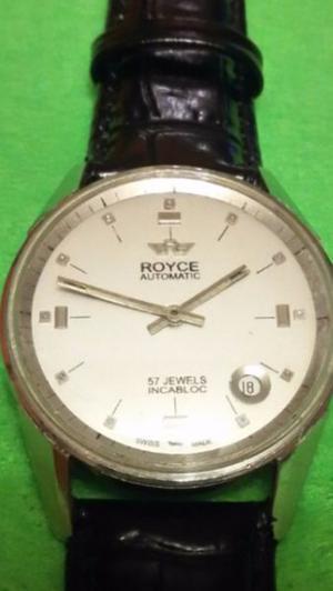 Reloj Royce automático 57 joyas