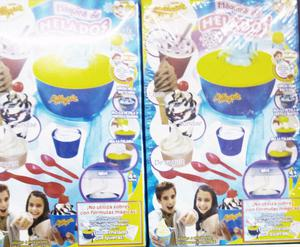 nueva maquina de helados de mi alegria