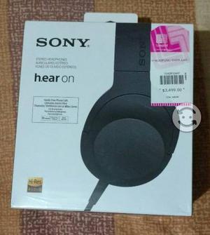 Audífonos Sony Hi Res Audio para Audiofilos