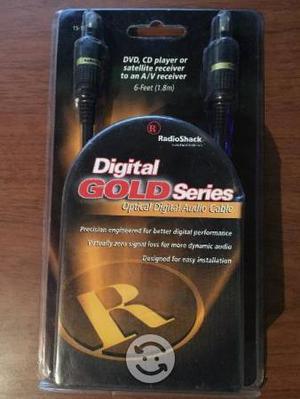 Cable de fibra óptica para audio HD, Radioshark