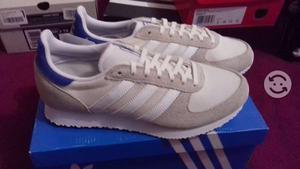 Tenis Adidas Originals Racer blancos nuevos