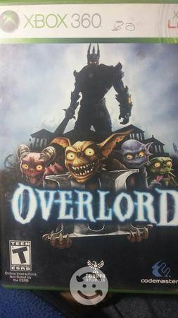 Videojuego overlord 2 de xbox 360