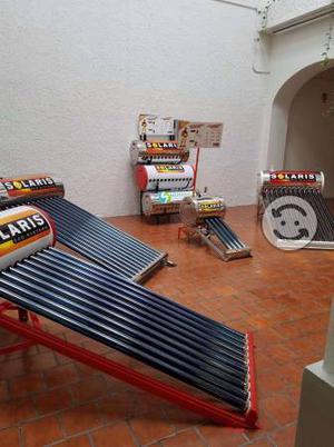 Calentador solar 10 tubos 5 AÑOS DE GARANTÍA
