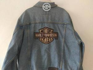 Chamarra Harley Davidson original Mezclilla talla
