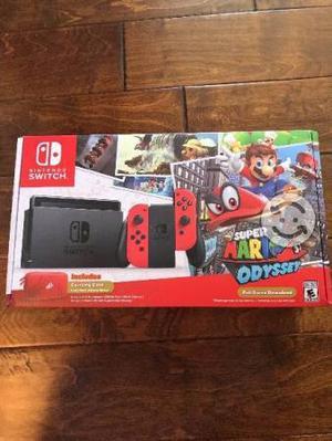 Consola Nintendo Switch Super Mario Odyssey
