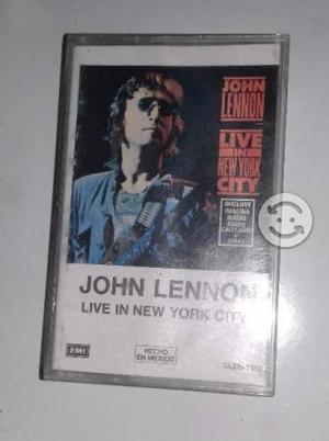 John Lennon Beatles Live in New York City Cassette