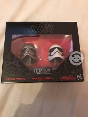 Mini Cascos Star Wars TITANIUM Series