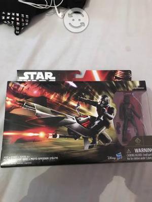 Star Wars Storm Trooper con Moto speeder