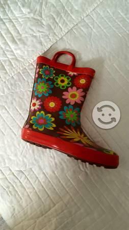 Botas de lluvia para niña
