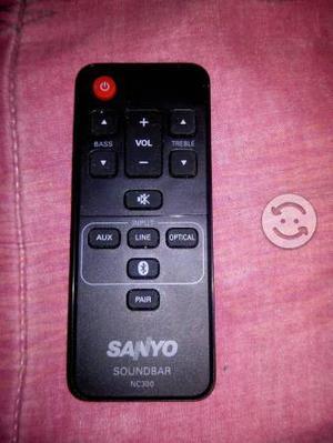 Control remoto marca sanyo
