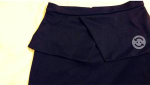 Falda azul marino $200 o a tratar