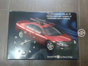 Reloj de pared mopar dodge intrepid 98