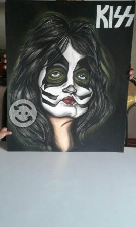 Kiss dibujos 69x56cm