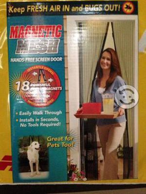 Mosquitero protector magic mesh originalnuevo posot class for Mosquitero magnetico