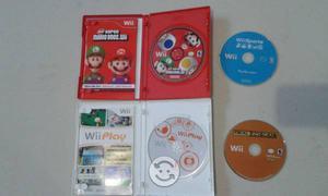 Super Mario Bros Wii y 3 Juegos De Regalo