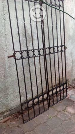 Puerta de herreria para patio o exterior posot class for Puertas para patio exterior