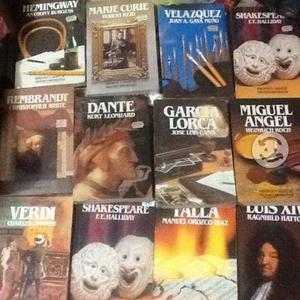 Lote de 12 Libros grandes biografias salvat