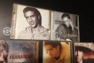 Alejandro Fernandez 7 Cd's originales