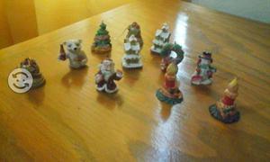 Figuras navideñas coca cola