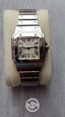 Reloj santos de catier quartz original v/cmb