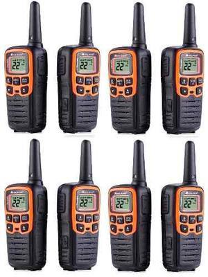 4 Kit Radios Midland X Talker T51vpkm 28mi 2 Vías