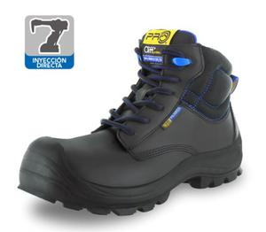 Bota Trabajo Industrial Cliff Poliamida 409 Pro Cap Linterna