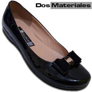 Calzado Escolar Zapato Piso Cómodo Durable Charol