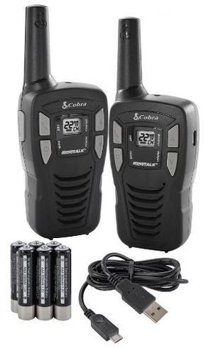 Kit Radios Cobra Microtalk 26km 16 Millas Cxt195 Gmrs Frs