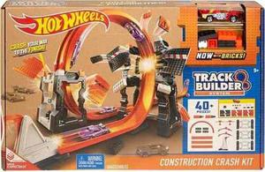 Mega Pista De Choques Hot Wheels Track Builder Construction