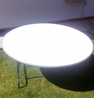Mesas redondas (fibra de vidrio)
