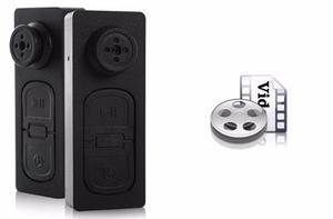Mini Camara Espia Boton Espia Fotos Video Audio Hasta 32gb