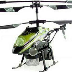 Mini Helicóptero Control Remoto Expide Burbujas Envio