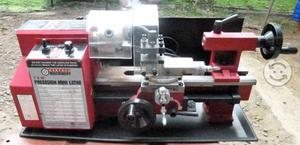 Mini Torno De Precision 7 X 10 Metal Central Machi