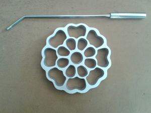 Molde Para Buñuelo De Viento Modelo Flor Grande 14 Cm