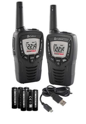Radios Cobra Microtalk 37km (23 Millas) Cxt345 Dos Vias