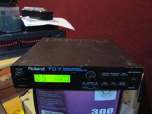 Roland TD-7 modulo de percusiones