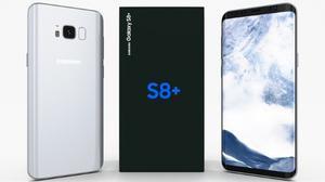 Samsung Galaxy S8 Plus 6.2pg 64+4ram 12+8mpx Gris Orquidea