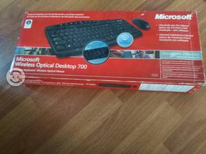 Teclado y Mouse Microsoft inalambricos