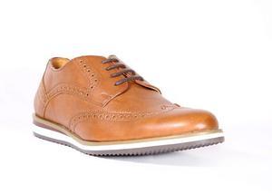 Trender Zapato Casual Estilo Bostoniano Color Canela