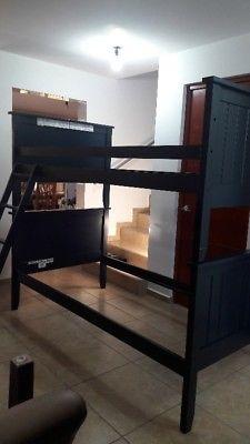 literas de madera que se hacen 2 camas individuales