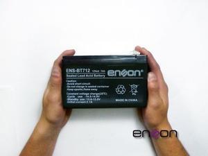 Bateria 12v 7a Enson Para Cctv Nobreak Ups Universal Iva Inc