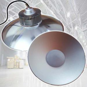 Campana Led Industrial 100w Aluminio Foco 12 Meses Garantia