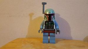 Excelente Reloj Lego Star Wars Boba Fett Original
