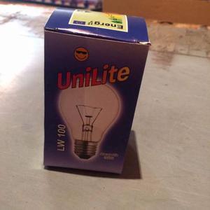 Foco Ahorrador Luz Cálida Caja Con 100 Piezas